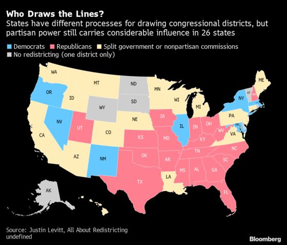 Republicans Emerge From Census With Upper Hand in Map-Drawing
