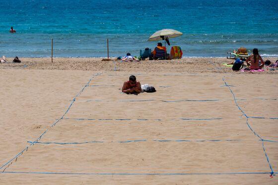 In Spain's Mass Tourism Mecca, U.K. Quarantine Means Bummer Summer