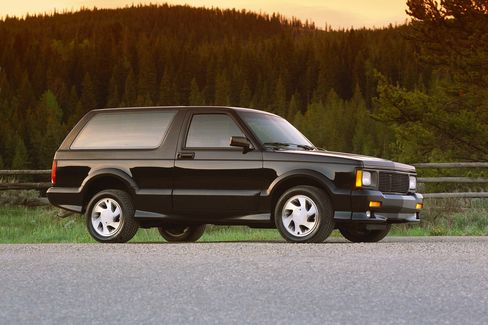 Miller has owned three Typhoons such as this 1992 GMC Typhoon SUV. The third and last of the line is still in California, awaiting repair.