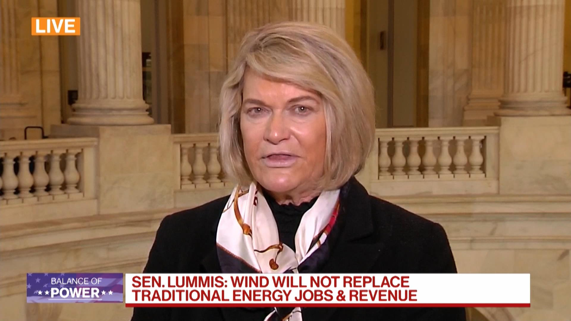 Sen. Lummis Says Wind Will Not Replace Traditional Energy Jobs, Revenue thumbnail