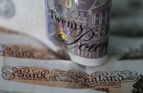 Yen Reaches 2 1/2-Year Low as Pound Slides