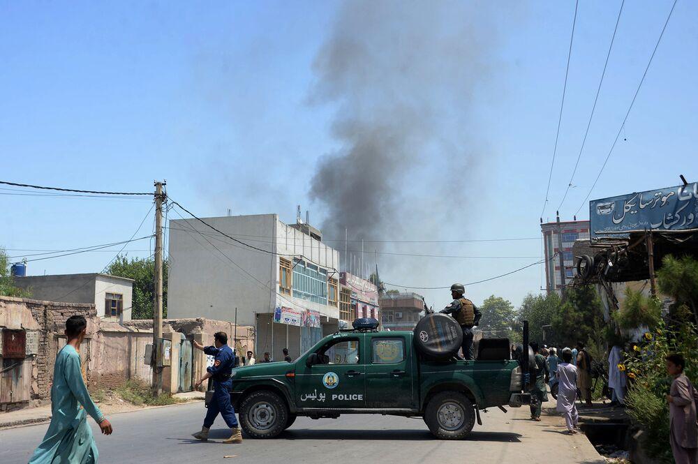 U S  Watchdog Cites 'Disturbing Increase' in Afghan Attacks