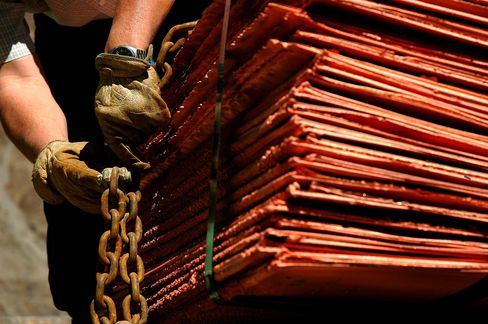 Anglo Said to Be Readying Announcement of Chile Copper Agreement