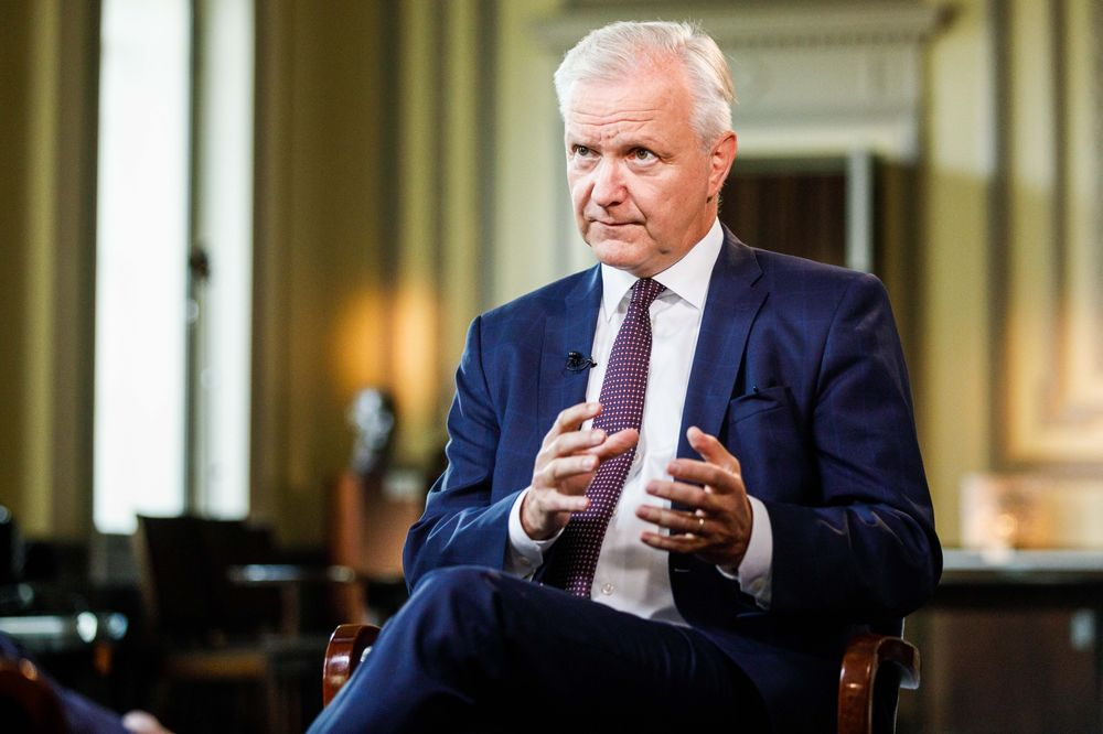 Rehn Revives Call for ECB Strategy Review Amid Tepid Inflation - Bloomberg