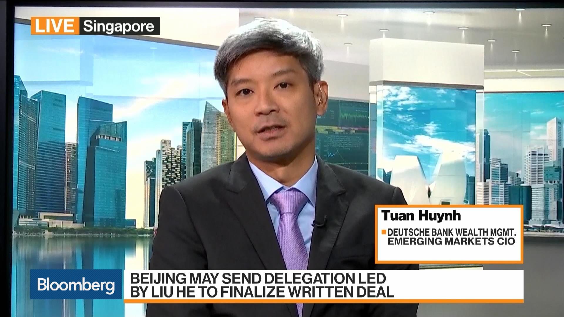 Deutsche Bank Wealth Management Emerging Markets CIO Tuan Huynh on Markets, Investment Strategy