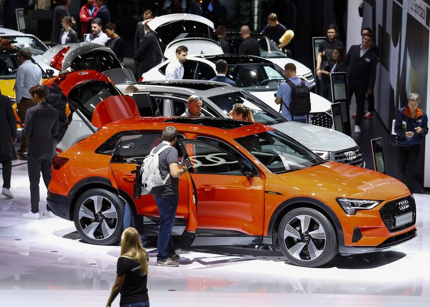 Day Two Of The 68th IAA Frankfurt Automobile Show