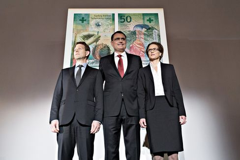 The Swiss National Bank (SNB) Presents New 50 Swiss Franc Banknote