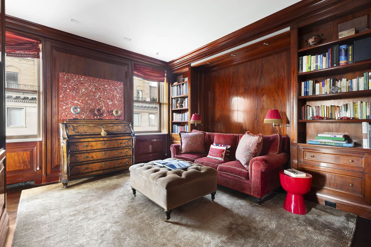 A Former Morgan Stanley Exec Lists His $28.5 Million Central Park Condo