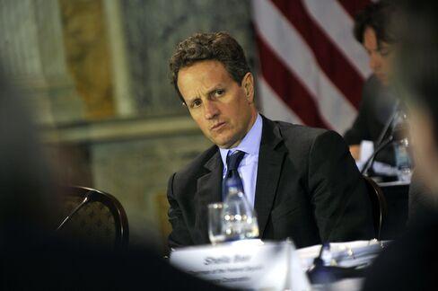 Geithner Ends Treasury Secretary Davos Drought Rebounds