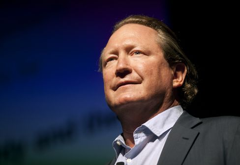 Fortescue Metals Group Founder Andrew Forrest