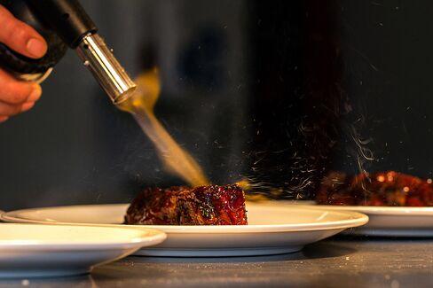 Himalayan ribs, served at Chai Ki's Toddy Shop.