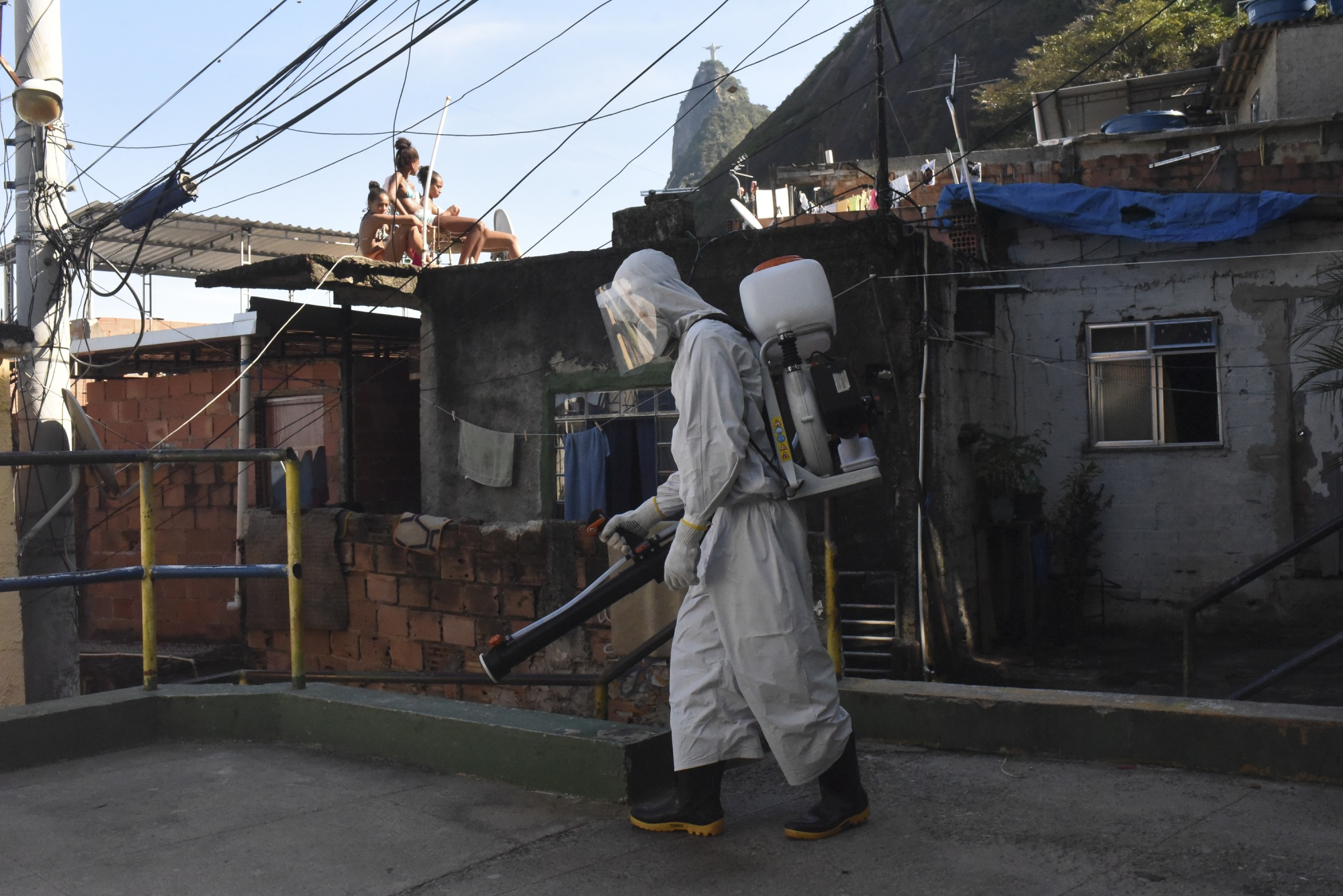 Coronavirus emergency in Brazil