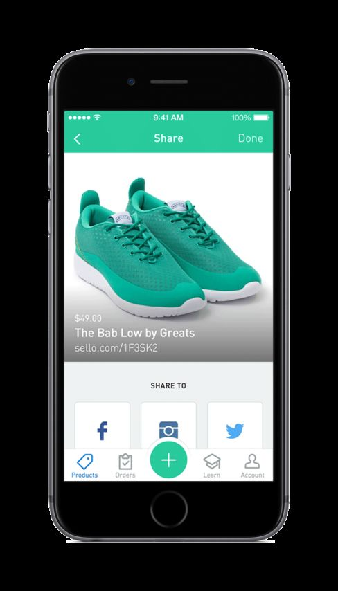 Shopify's new Sello app is all about the photos.