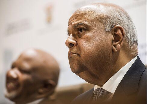 South Africa's New Finance Minister Pravin Gordhan