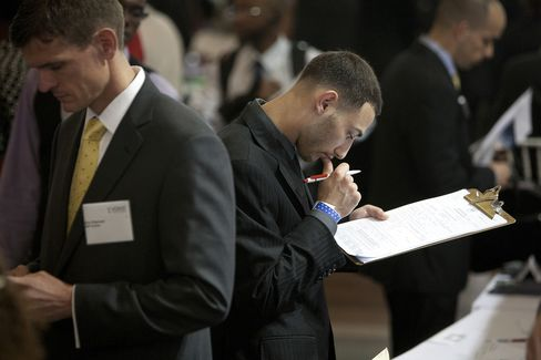 Jobless Claims in U.S. Hovered Last Week Near Year's High