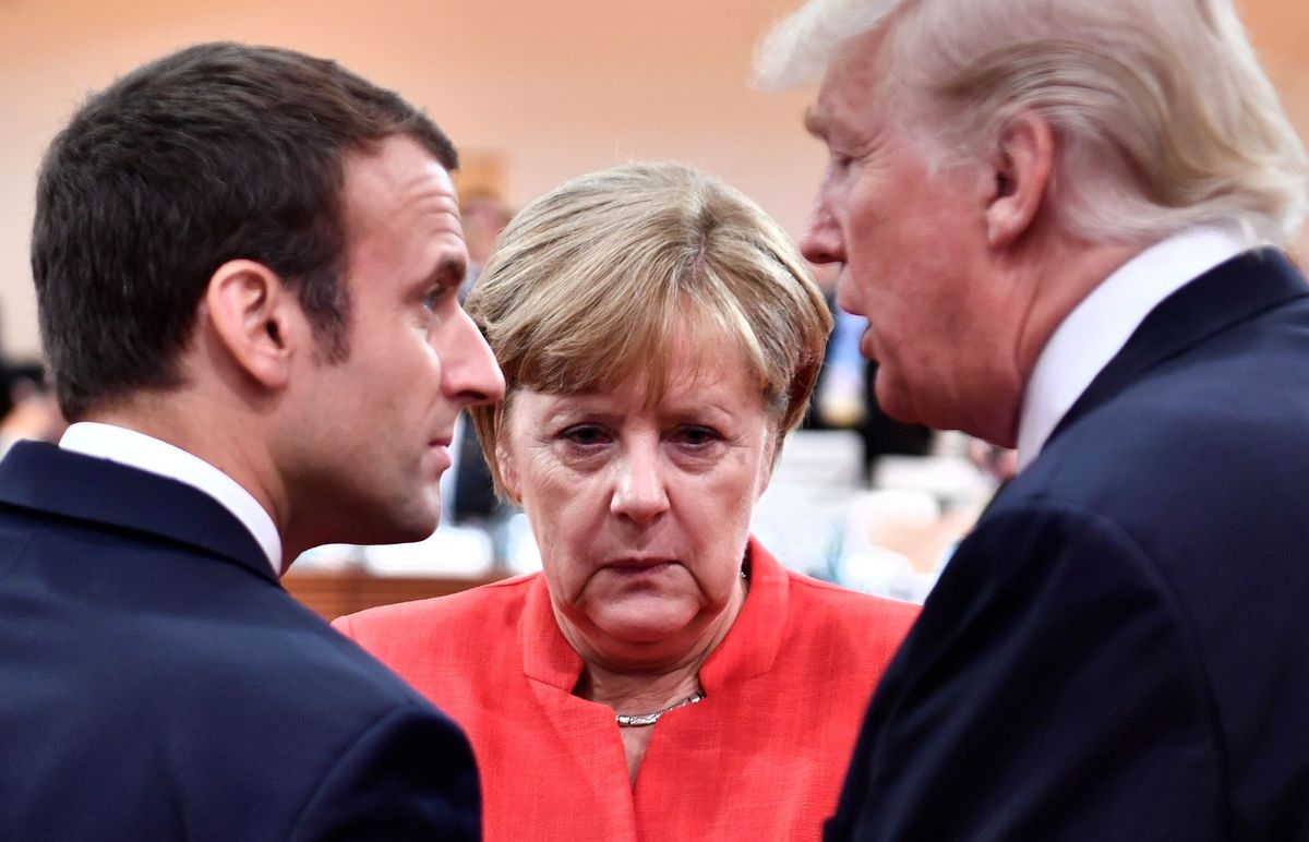 Macron and Merkel Are Caught in a New Cold War
