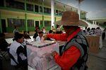 メキシコで4日行われた統一地方選挙の様子。
