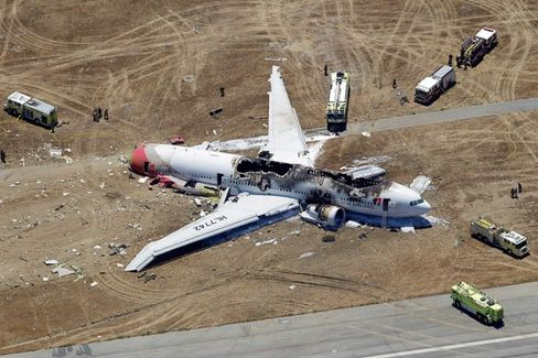 Asiana Hit With First U.S. Fine for Dismal Post-Crash Communication