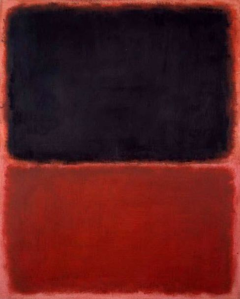 The fake Rothko exhibited in court