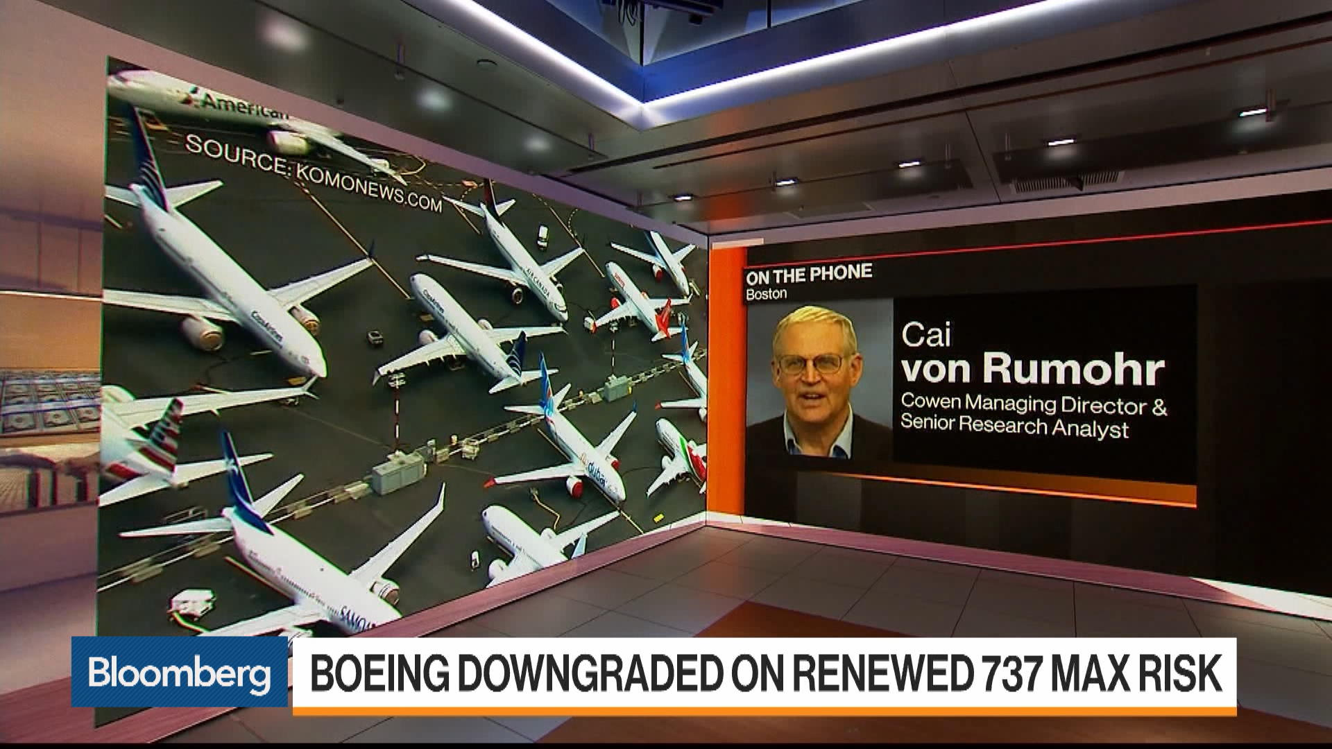 Latest Boeing Revelation May Delay FAA Certification, Says Cowen's Cai von Rumohr