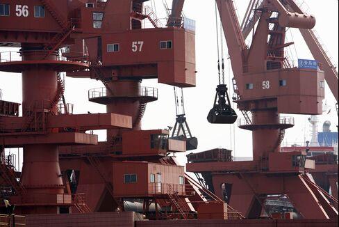 Metals Were Stockpiled At Qingdao Port