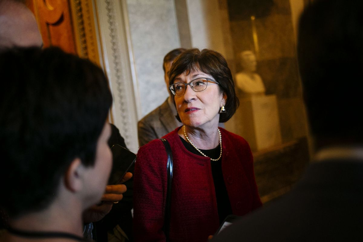 Susan Collins Faces Bipartisan Anger in Trump-Era Re-Election Bid