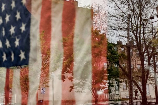 US Flag city