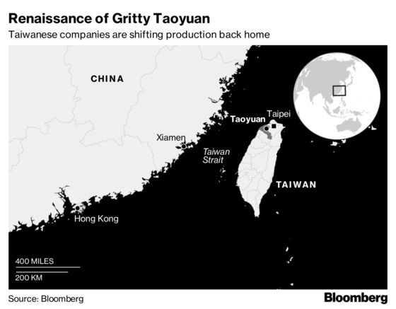 Taiwan's Underdog City Is Reborn in China-U.S. Trade Spat