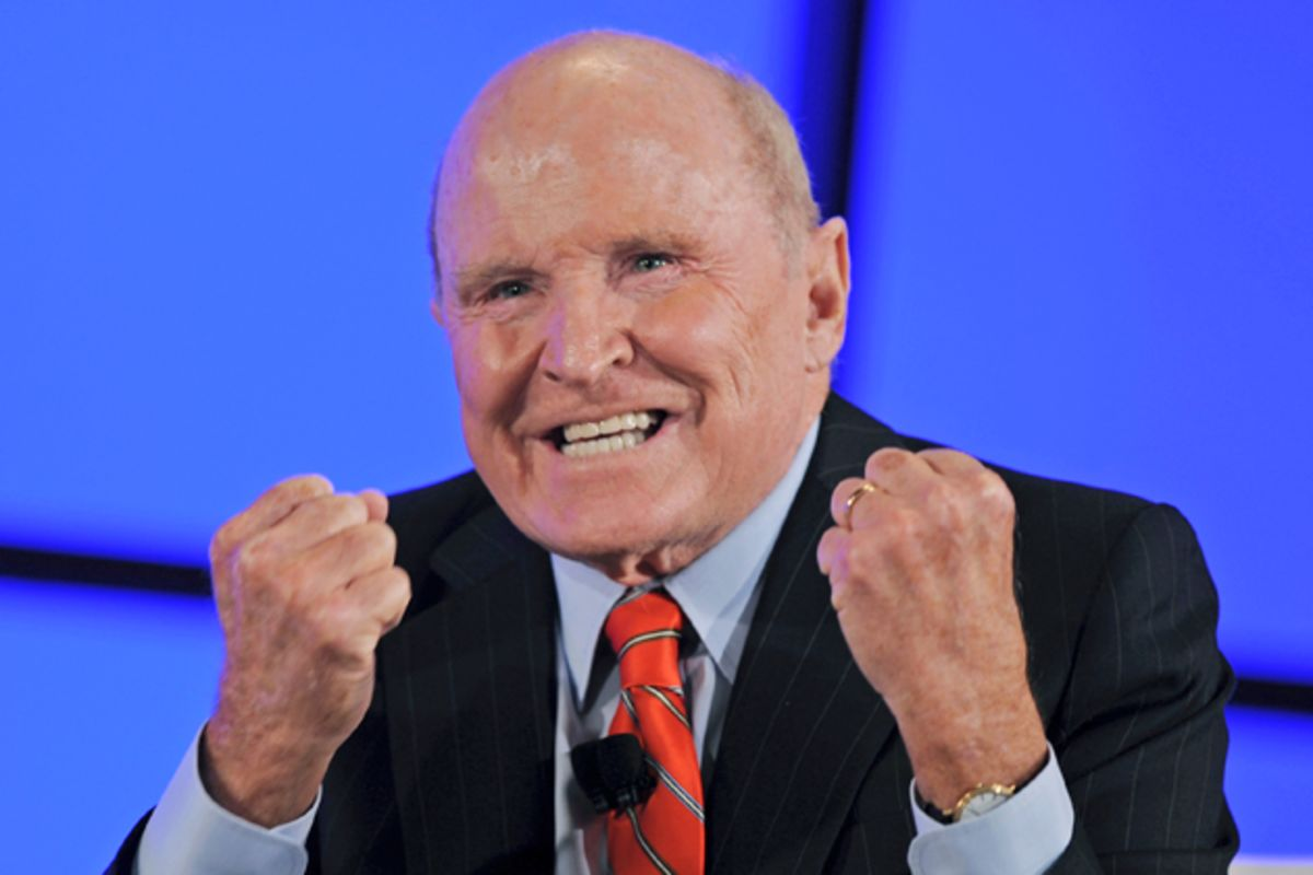 general electric under jack welch Jack welch, the former ceo of general electric, is said to be apoplectic about the mounting problems faced by the once high-flying conglomerate, according as a new batch of bad news has hit general electric (nyse:ge) this week, the company's former longtime chief executive and now management.
