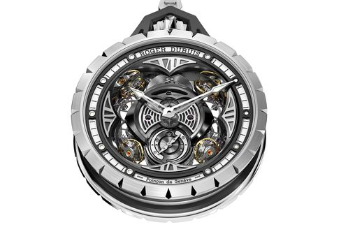Even for a complicated pocket watch, the Excalibur Spider Pocket Time Instrument makes a big statement.