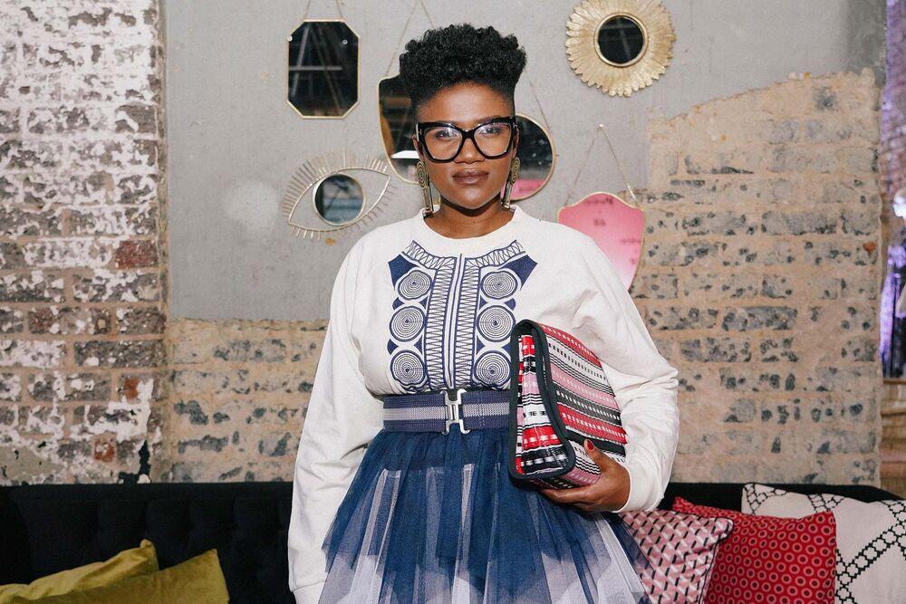 Palesa Mokubung Talks About Her H M Mantsho Line Bloomberg