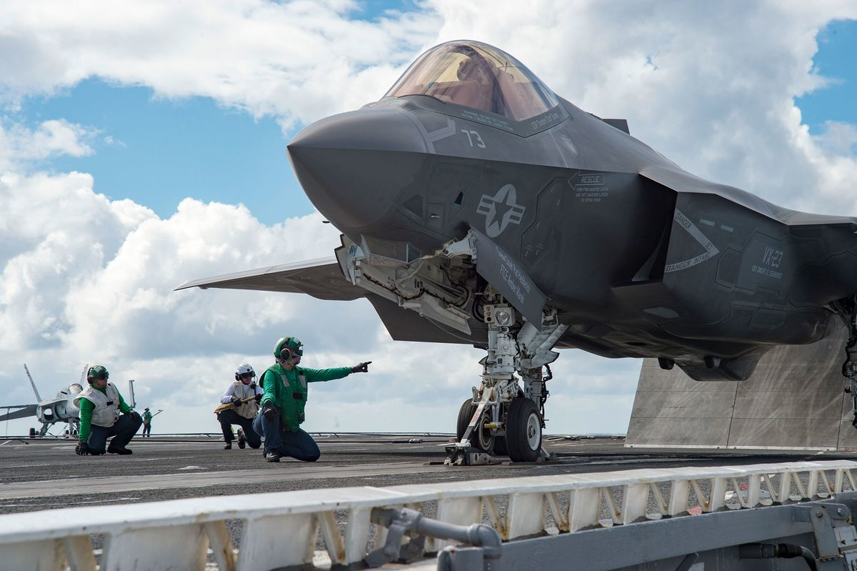 Trade War: U S  Fighter Jets in China's Rare-Earth Firing
