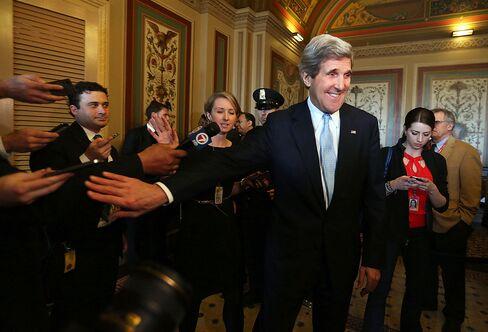 Kerry Wins Senate Confirmation for U.S. Secretary of State