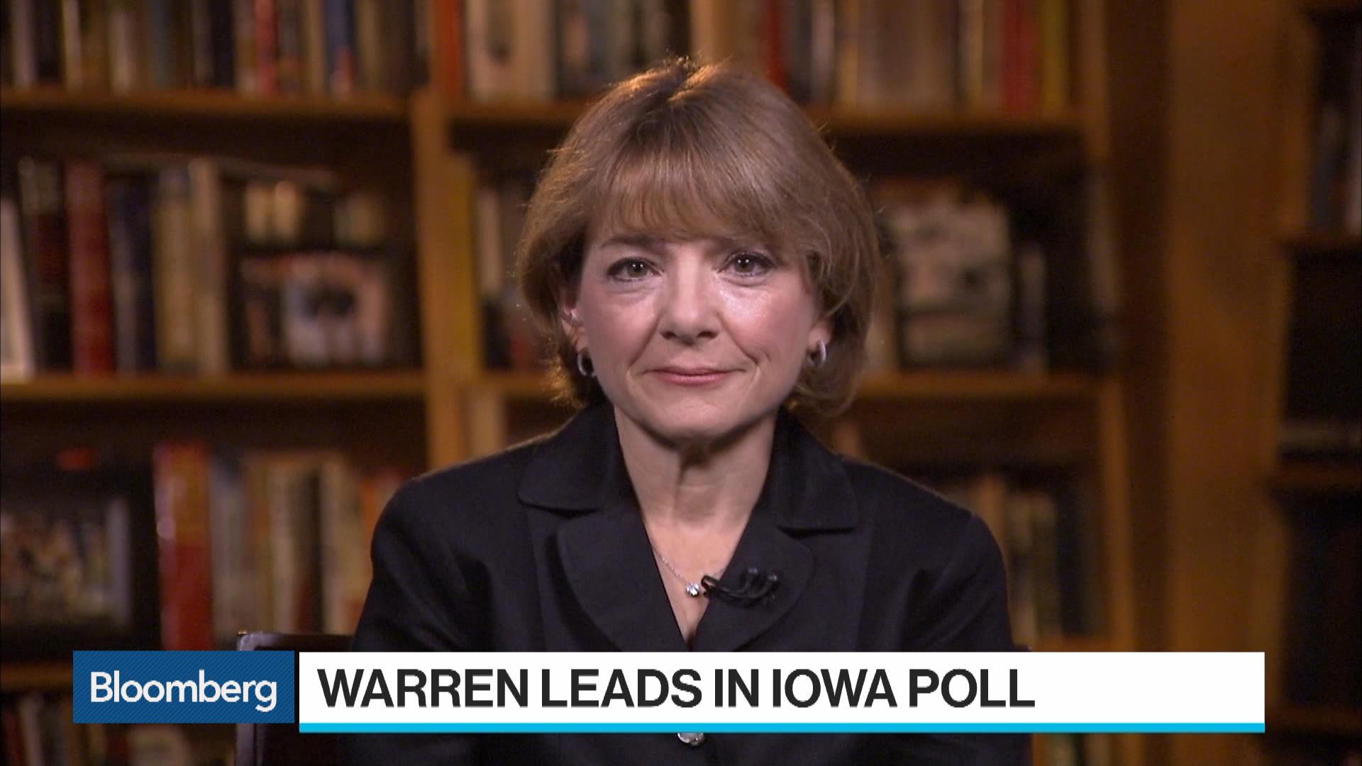 Brown University's Schiller: Warren Attracting A Lot Of Support