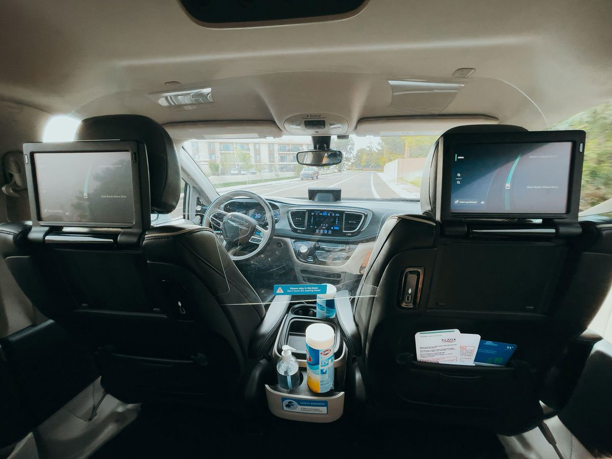 Waymo (GOOG) Self-Driving Taxis in San Francisco With Safety Driver