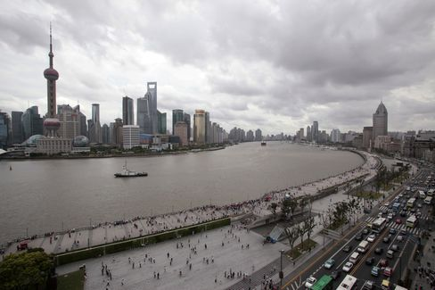 Shanghai Cuts Rates in Nation's First Muni Bonds