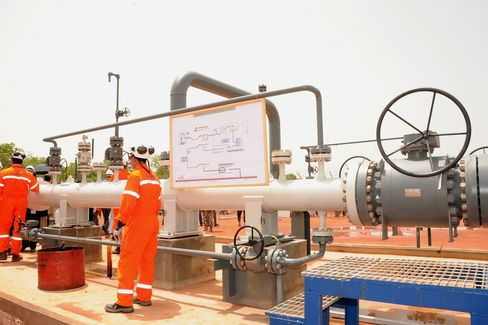 Oil Pipeline in Chad