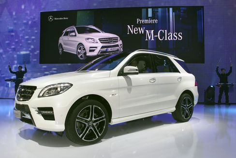 Mercedes Retaining No. 1 for U.S. Luxury Depends on SUVs