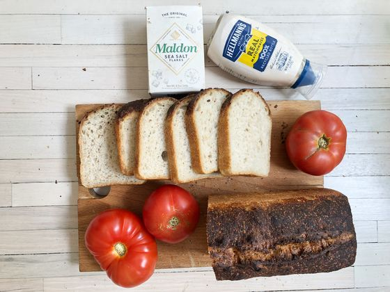 There's a Trick to Making the Summer's Perfect Tomato Sandwich