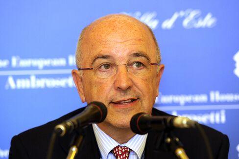 European Union Antitrust Commissioner Joaquin Almunia