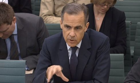 Mark Carney gives evidence to the Treasury Select Committee on March 8.
