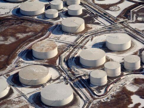 Newark oil storage.