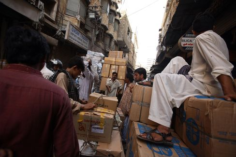 Karachi Wholesale Drug Market