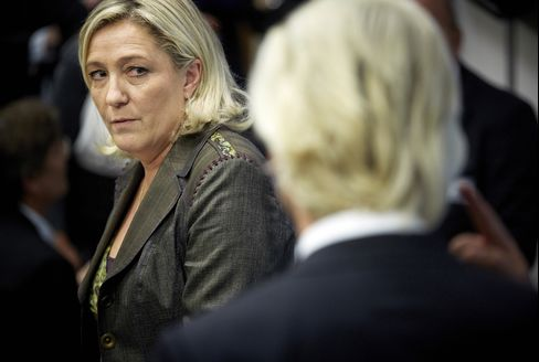 National Front Party Leader Marine Le Pen