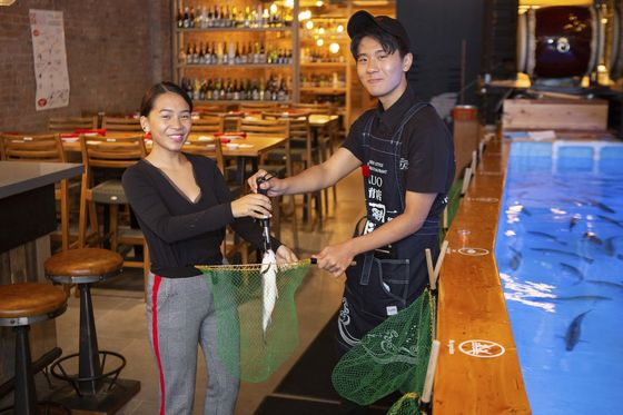 Fishing for Your Food at New York's Wild New Seafood Restaurant