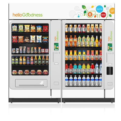 PepsiCo is rolling out a new kind of vending machine in a response to health concerns. Photo courtesy of PepsiCo.