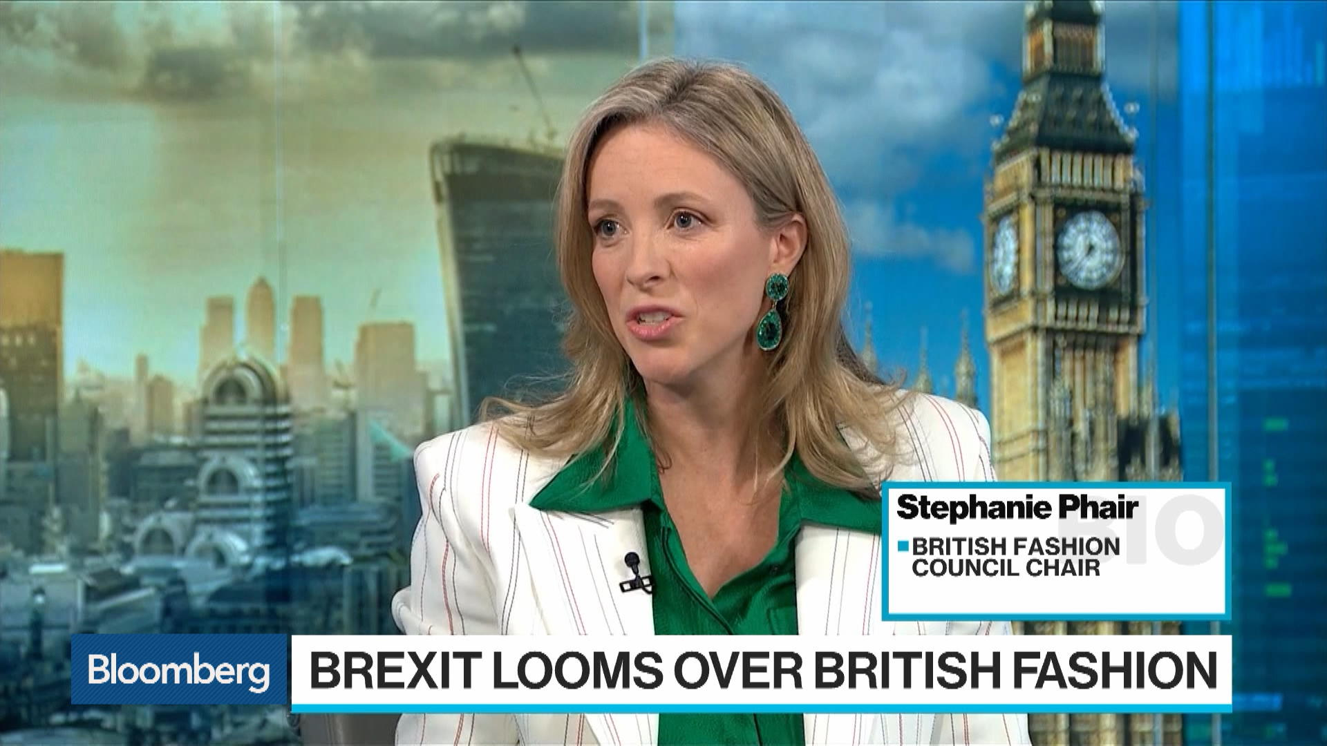 British Fashion Industry 'Worries a Lot About Brexit,' Phair Says