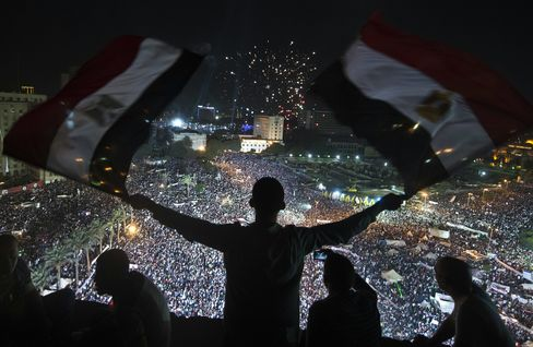 Most Egypt Stocks Advance After Pro-Army Rallies