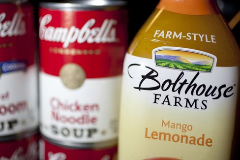 Campbell's Buyout Highlights Most Food Deals Since 2008
