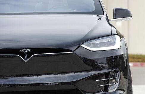 Tesla's Model X SUV